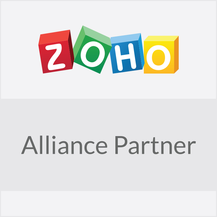 Wedelroos är Zoho Alliance Partner